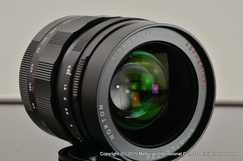 Voigtlander Nokton 17 5mm F 0 95 For Micro Four Thirds Excellent Lens Ebay 5mm