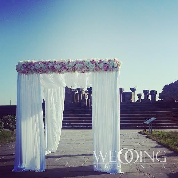 Amazing wedding ceremony at Zvartnots, Armenia - #weddingarmenia www.weddingarmenia.com