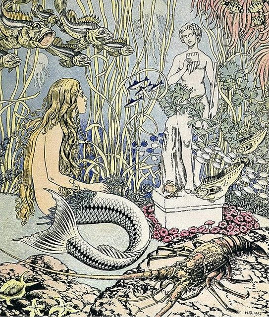 Ivan Bilibin  'Little Mermaid'