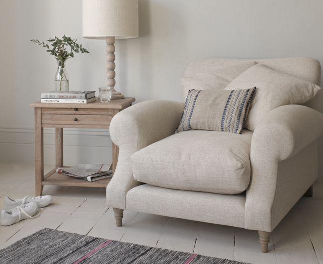 Elegant Crumpet Armchair
