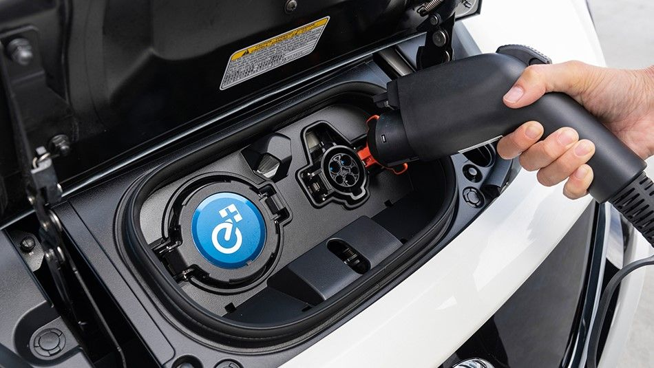 Nissan Leaf The Environmentally Friendly Electric Car Nissan Leaf Electric Cars Ev Charging Stations