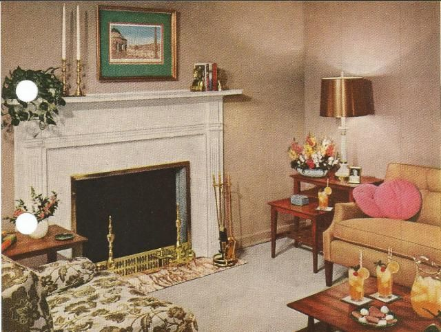 1950s Home Decorating Ideas Part - 24: 1950s Home Decorating, Backgrounds Set The Mood