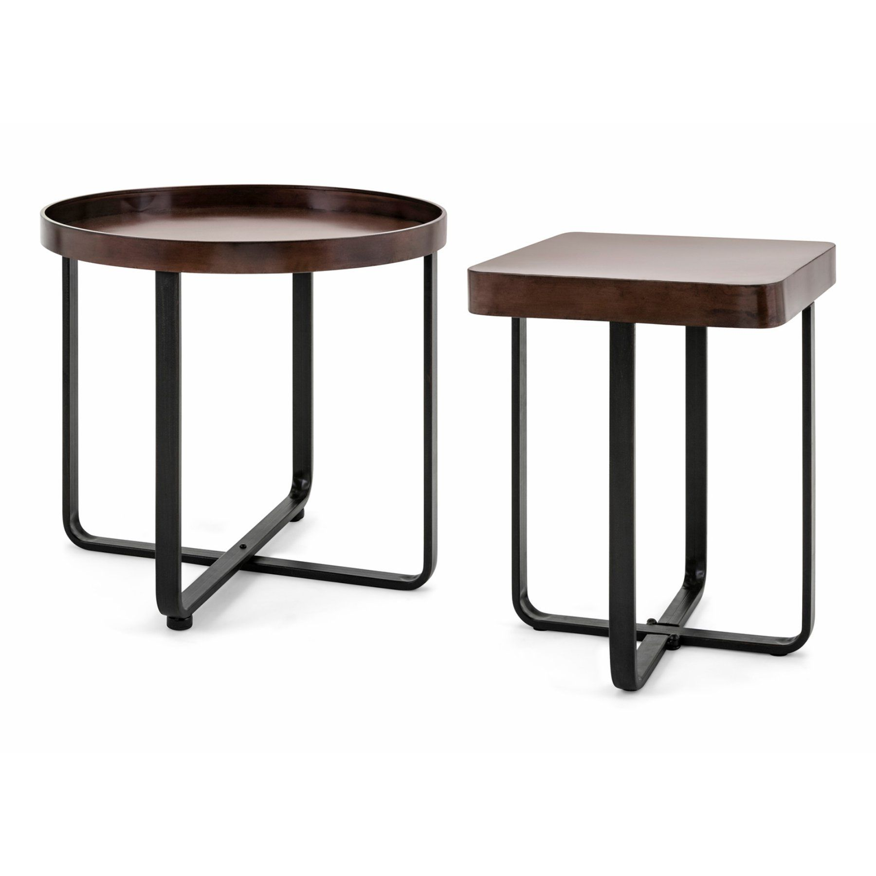 Imax Hopkin Accent Tables  Set Of 2  17149 2