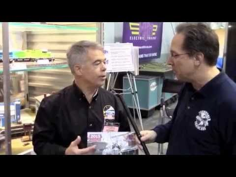2015 Spring TCA York Show. Train WOrld TV talks with Mike Wolf, president of MTH Electric Trains about 2015 Volume 2 RailKing & Premier O-Gauge Trains Catalog.