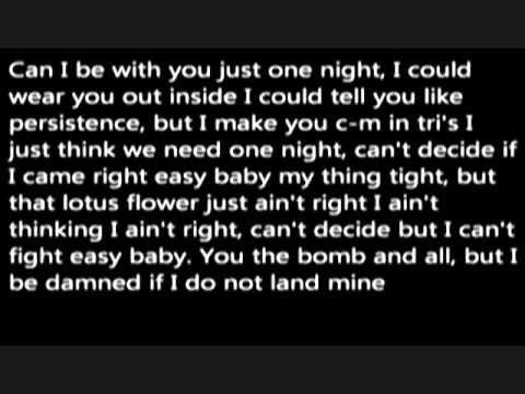 Wale Lotus Flower Bomb Lyrics Feat Miguel Yes Please Pinterest