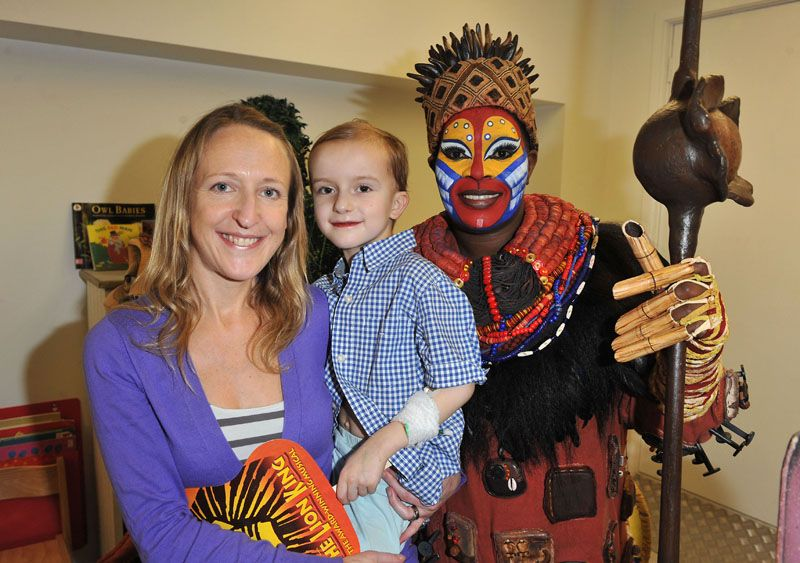 cast of the lion king bring musical wonder to  gosh