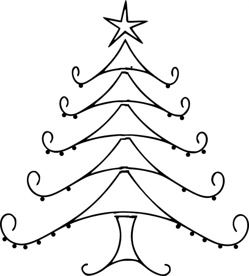 Christmas Tree Line Drawing Clipart Best Clipart Best Cliparts Co Christmas Tree Drawing Christmas Drawing Xmas Drawing