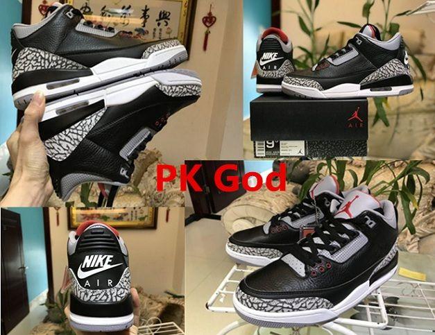 Nike Air Jordan 3 OG Retro Black/Cement Due To Release 2018 cheapest legit  check