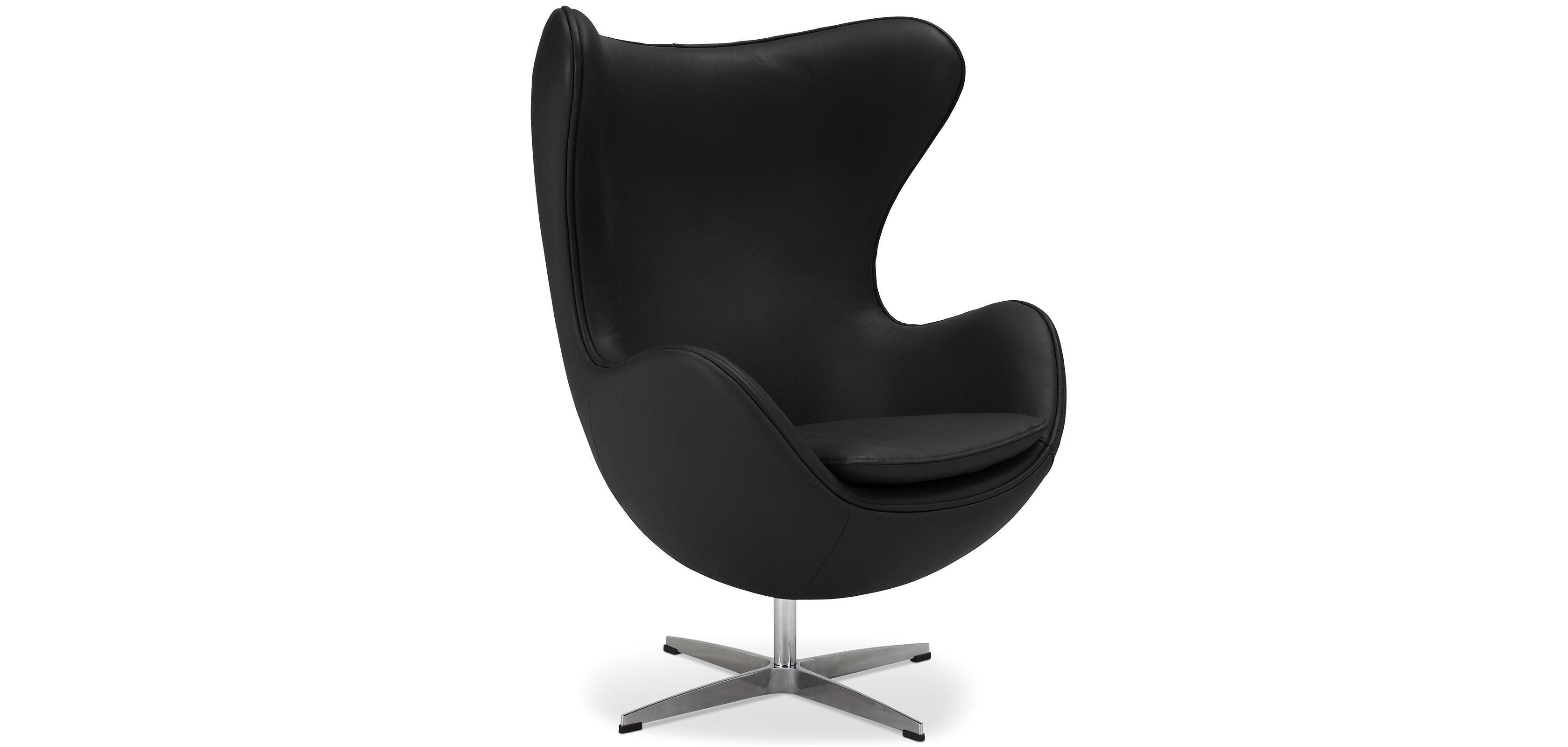 Cocoon Chair Cuir Premium Stuhl Kunstleder Egg Sessel Kunstleder