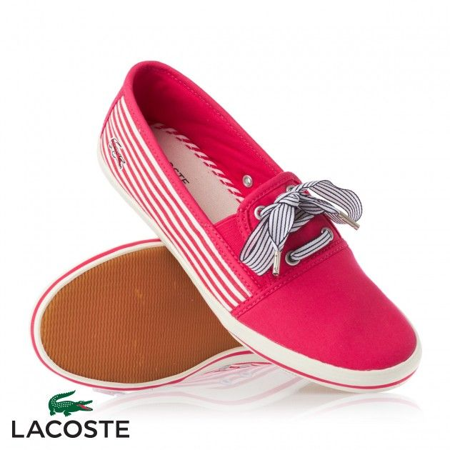 Buy Women's Lacoste Fabian AP SRW Shoes - Pnk/Off Wht | Big Savings at Urban Surf