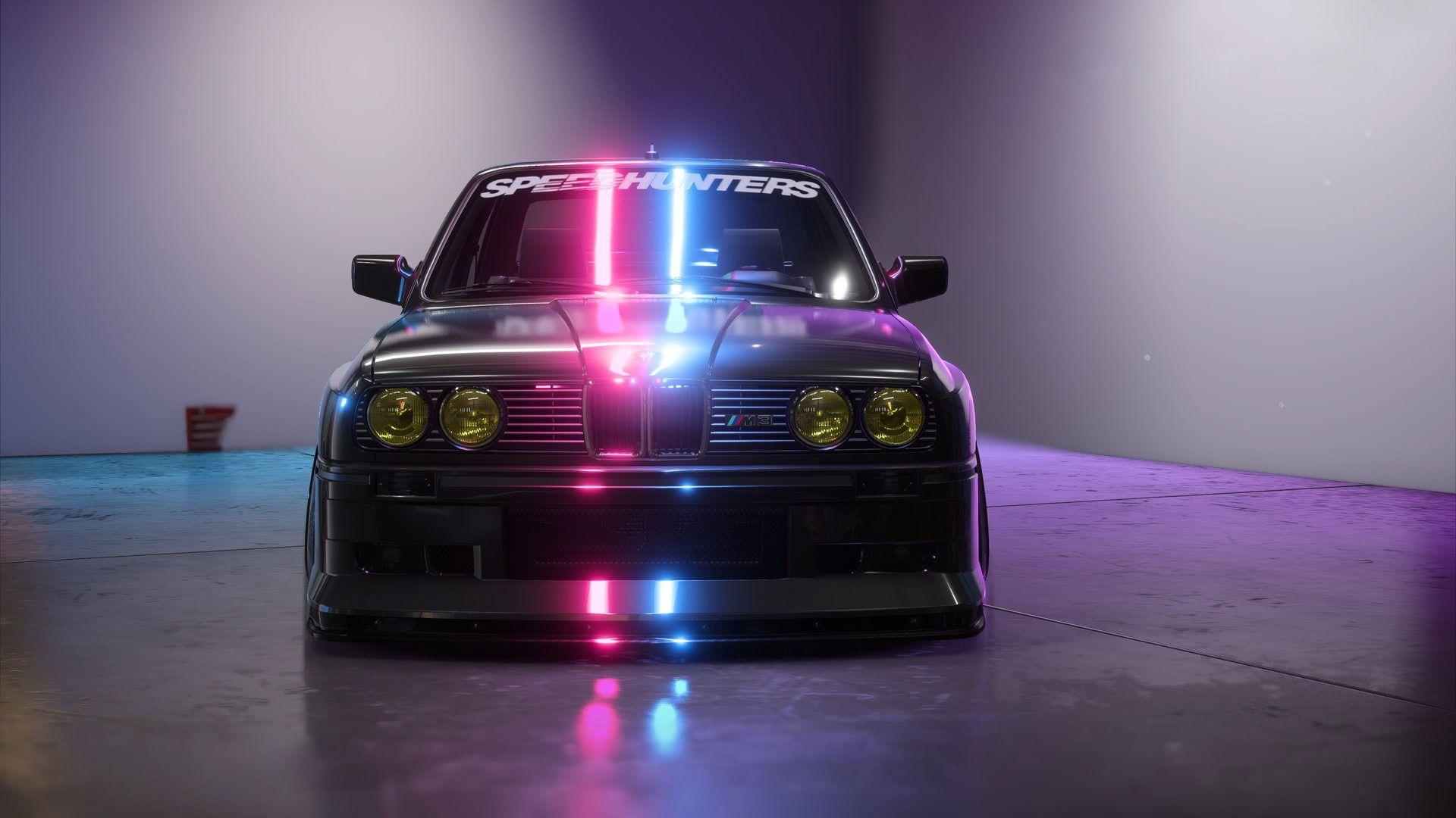 Bmw M3 Wallpaper Car Neon Vehicle Speedhunters In 2021 Bmw M3 Wallpaper M3 Wallpaper Bmw M3