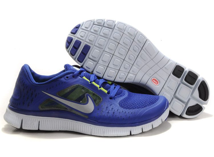 Discount Womens Nike Free Runs 3 Deep Royal Blue Reflect Silver Sail Volt Shoes  outlet, wholesale Womens Nike Free Run 3 , discount Womens Nike Free Run ...