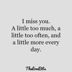 I Miss You Quotes for Him For When You Miss Him Most - Part 36