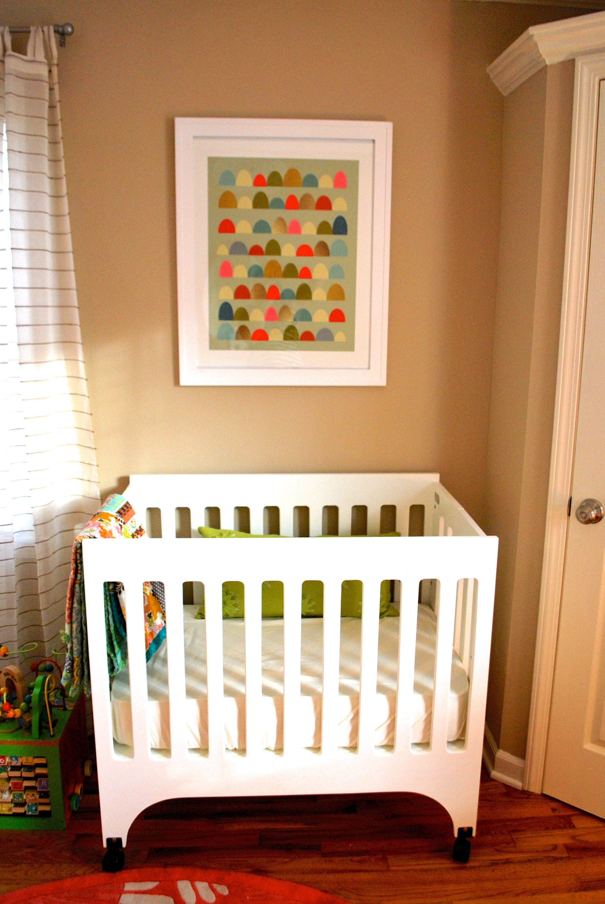 Oh Baby! Nursery Number Two Reveal! | Mini crib, Crib and Nursery