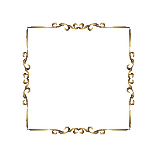 ترف زخرفة الإطار فاخرة خلفية ديكور ديكور تصميم بنر فن الذهبية الذهب دعوة علامة زخرفة الزينة Paper Crafts Diy Kids Ornament Frame Paper Crafts Diy