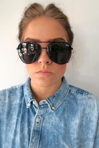 5a6a13ebea Quay Vivienne Sunglasses BLACK SMOKE