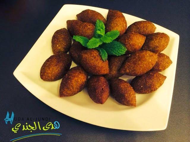Kibbeh zählt wohl zu den beliebtesten Speisen in Syrien und ist auch ...