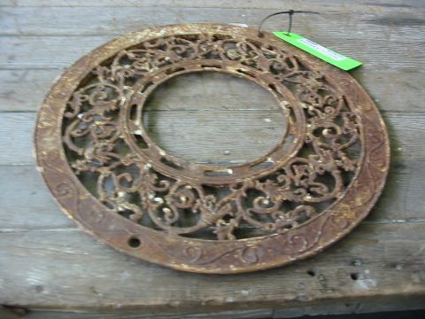 Circular Ornate Cast Heating Grate | Second Use, Seattle: Building Materials, Salvage, & Deconstruction