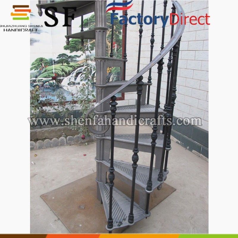 Best Wrought Iron Spiral Staircase Cast Iron Stair For Sale 400 x 300