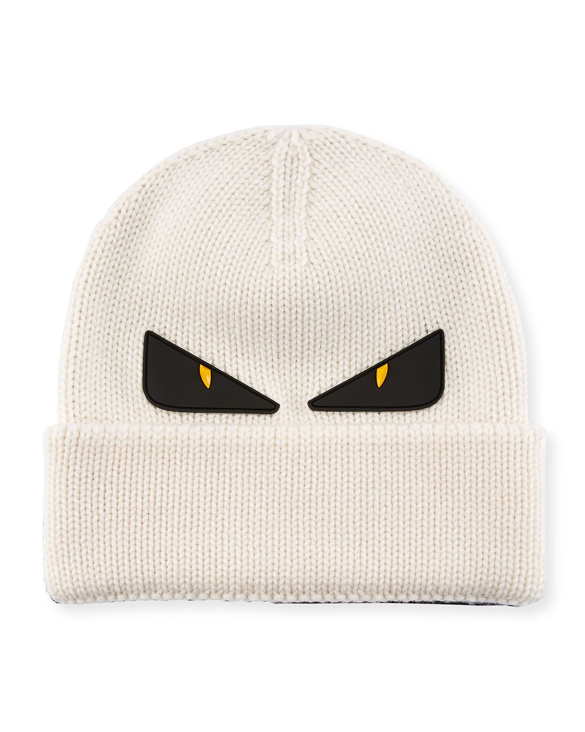 1d6ebd32153 FENDI MONSTER EYES WOOL BEANIE.  fendi. Find this Pin and more on Fendi by  ModeSens Men.