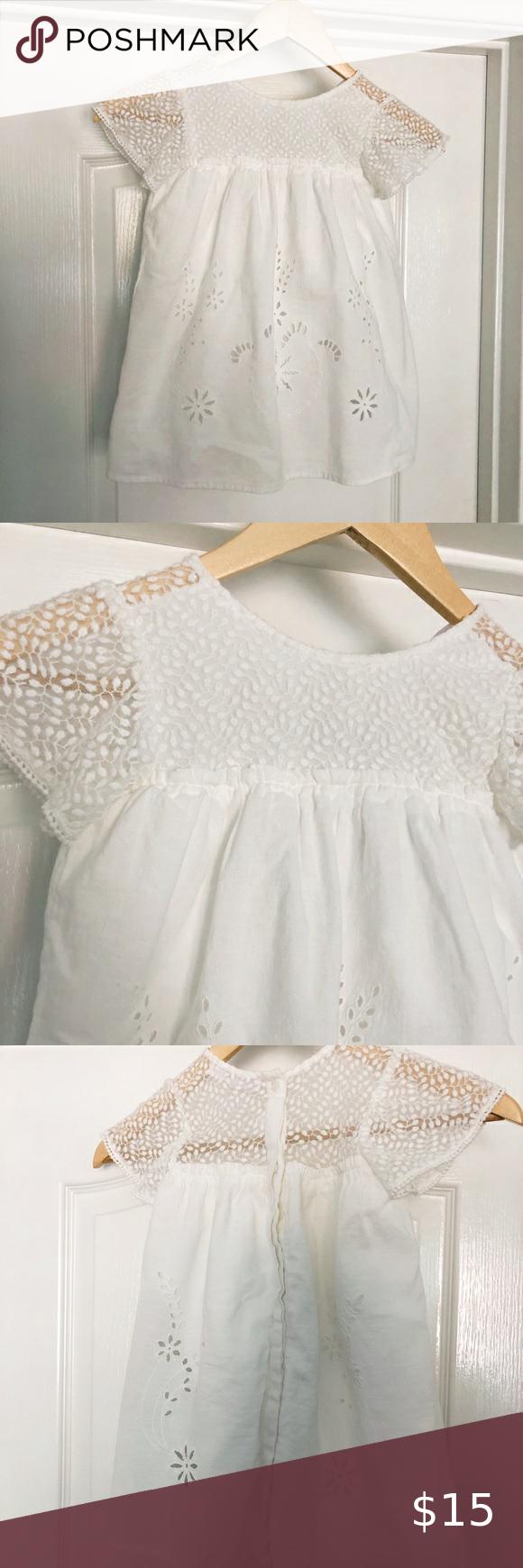 Zara Kids Girls White Eyelet Dress White Eyelet Dress Zara Kids Girls Eyelet Dress [ 1740 x 580 Pixel ]