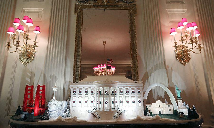 Melania Trump unveils 2019 Christmas decorations at the