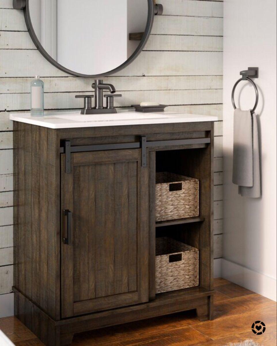 Bathroom Remodel Single Bathroom Vanity Bathroom Vanity Bathroom Design Barn star bathroom decor