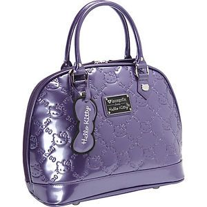 9f98d8e8c2 Loungefly Sanrio Hello Kitty Acai (Dark Purple) Embossed Tote Bag ...
