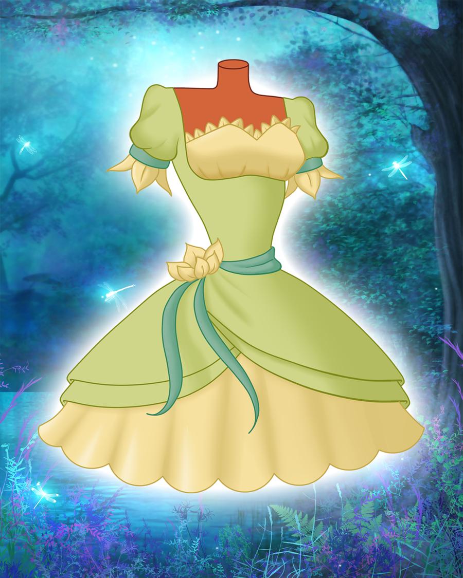 Disney in Lolita - Tiana by EnchantingRainbow.deviantart.com on @deviantART