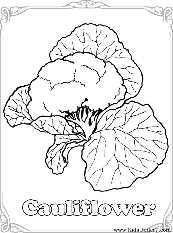 Vegetables Coloring PagesVegetable Coloring Find free coloring