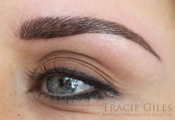 Tracy giles permanent makeup beauty pinterest for Eyebrow tattoo images