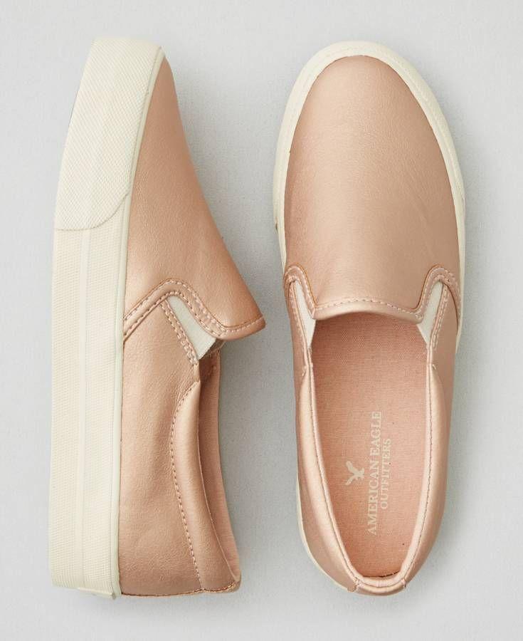 American Eagle Slip On Platform Sneakers | Platform slip on