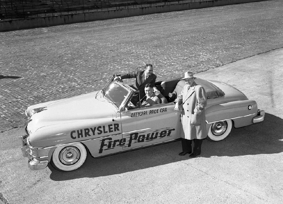 Strange Olde Indy 500 Pace Cars 1940 S Chrysler Convertible