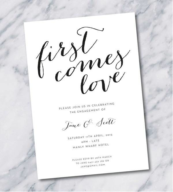 Engagement Party Invitations Mywedding Engagement Party Invitations Free Engagement Party Invitations Templates Printable Engagement Party Invitations
