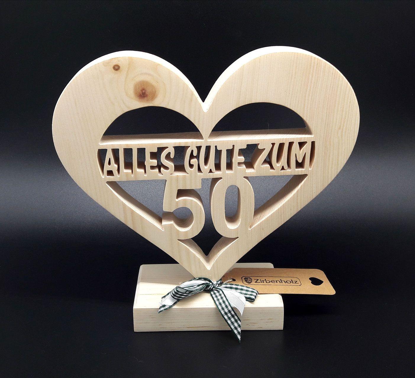 Geschenke zum 50 geburtstag aus holz
