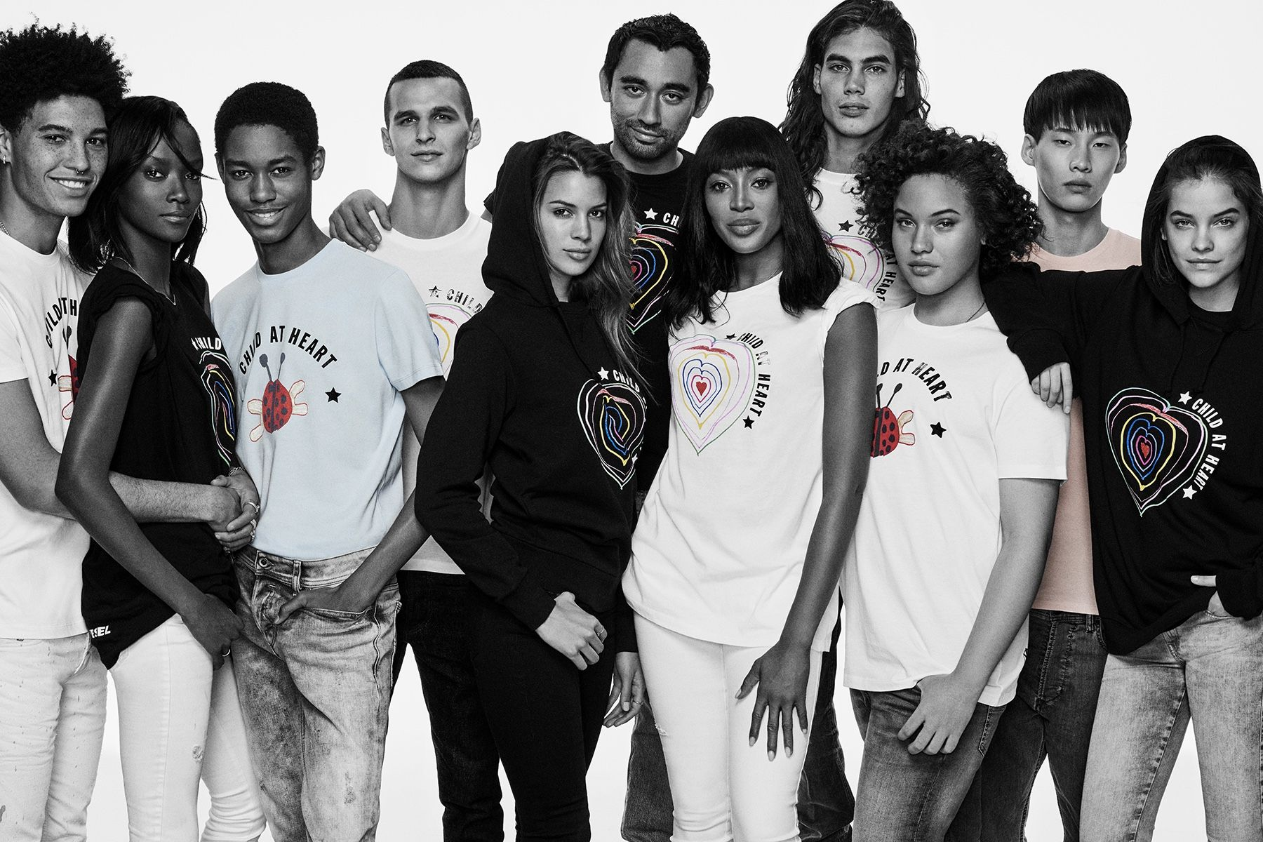"""Naomi Campbell Teams Up With Diesel For A """"Child At Heart"""" Charity Collection"""
