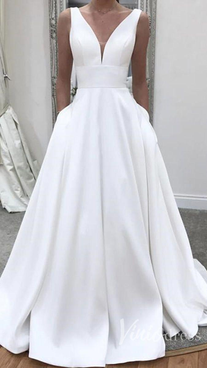 Strandhochzeitskleider, Boho Brautkleider, #fashion #bohowedding #bohoweddingd …