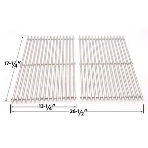 8mm Stainless Steel Grates For Charbroil 463411512 463411712 463411911 C 45g4cb And Master Forge 1010037 Gas Grill Models S Grill Parts Gas Grill Bbq Parts
