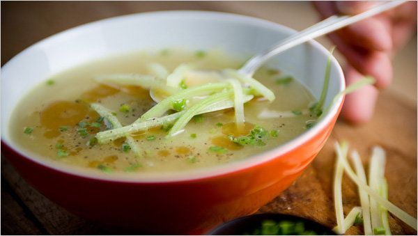 Celery And Potato Soup Good Looking