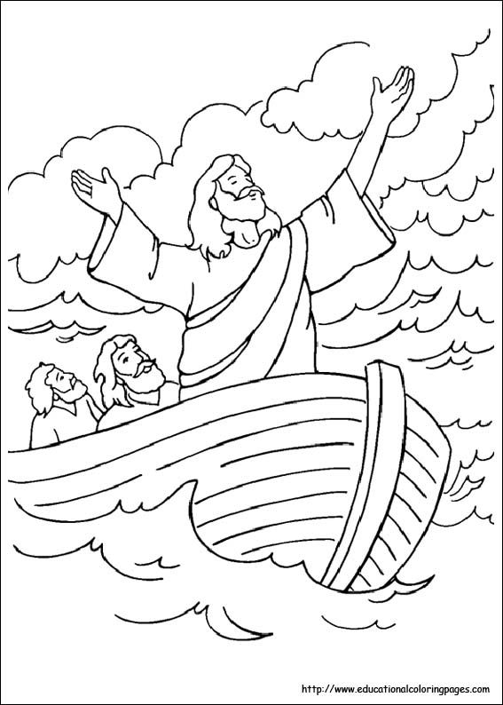 bible coloring pages free for kids - Childrens Biblical Coloring Pages