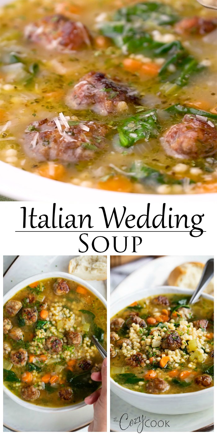 Italian Wedding Soup - Crock Pot and Instant Pot friendly!