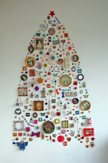 This Year S Tree Wall Christmas Tree Unique Christmas Trees Creative Christmas