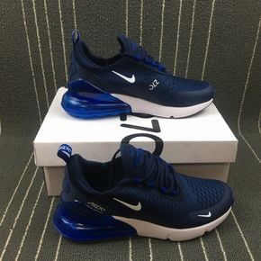 new style 14b3c a3ffc Top Quality Nike Max 270 Dark Blue Men s Sports shoes Sneakers AH8050-414