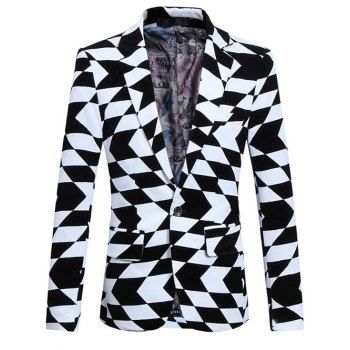 SHARE & Get it FREE | Plus Size Lapel Long Sleeve Irregular Geometric Print BlazerFor Fashion Lovers only:80,000+ Items·FREE SHIPPING Join Dresslily: Get YOUR $50 NOW!