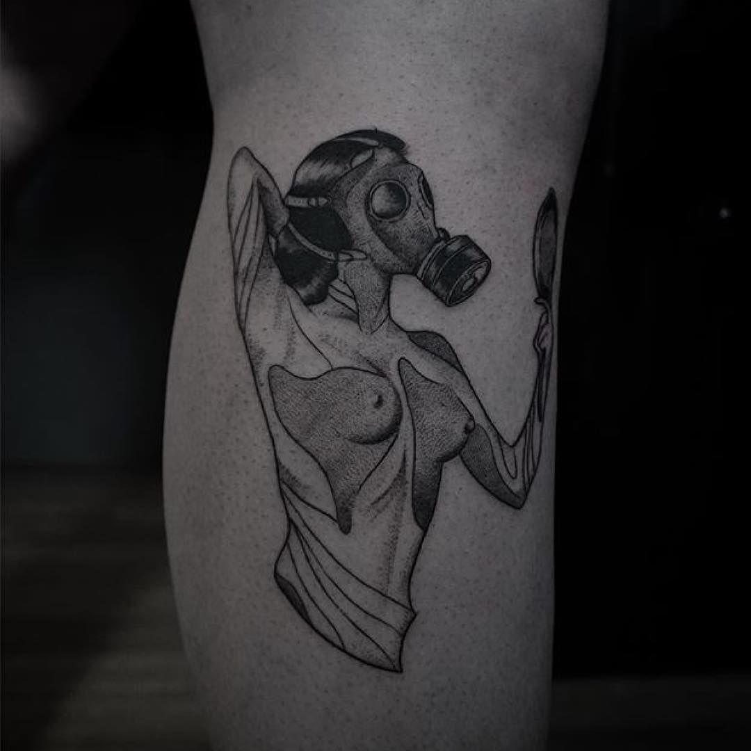 """""""Tattoo by @levi.jake #blackworkers #tattoo #bw #blackwork #blacktattoo"""""""