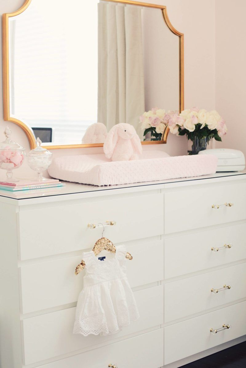 Pink Princess Nursery | Girls Room Design | Pinterest | rosa ...