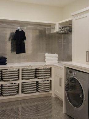 1001 id es comment am nager sa buanderie fonctionnelle id es pour la maison pinterest. Black Bedroom Furniture Sets. Home Design Ideas