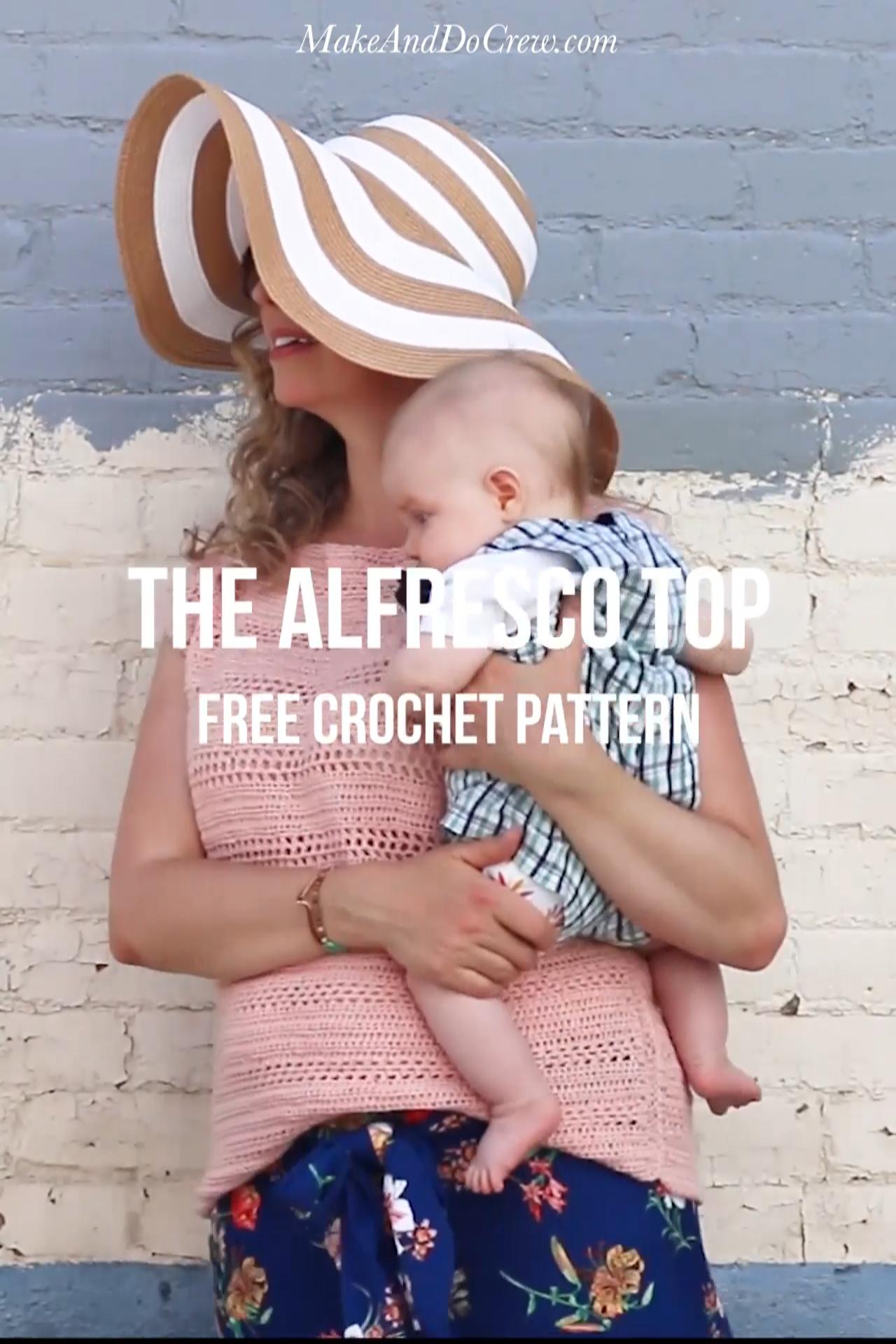 Photo of Easy Crochet Top Pattern – Free!