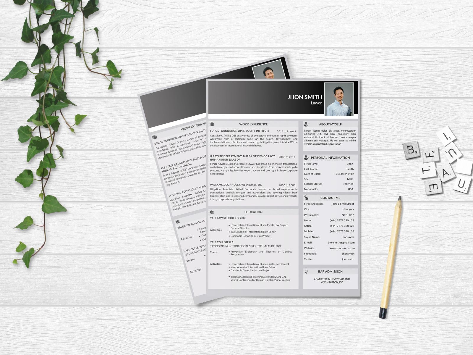 Free Lawyer Resume Template - Resume template, Resume design template, Resume template free, Templates, Resume templates, Resume - Free Lawyer Resume template for job seeker with clean and general layout  This free resume template available in multiple file format, so you can use your favourite software for edit this resume