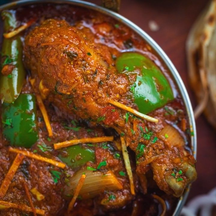 Kadai Chicken By Chef Sanjyotkeer Foodie Foodislife